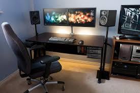 stand sit2s vivo dual monitor keyboard counterbalance sit clean dual monitor desk