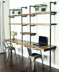 office desk shelves. Desk Bookcase Wall Unit Large Size Of Office Shelves Custom With Shelving Above Traditional Home And Library Corner Storage American Drew Tribecca