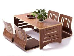 modern wooden furniture. Lush Wood Furniture Japanese Dining Table Folding Ideas Ure Excellent Brown Rectangle Modern Wooden Style