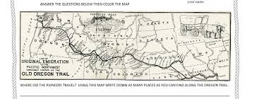 The Actual, The Original Oregon Trail Map! - Surviving the Oregon ...