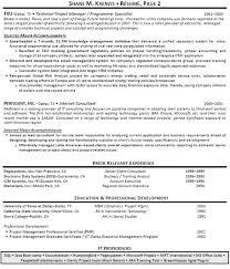 Program Manager Resume Samples Program Supervisor Resume Pattern ...