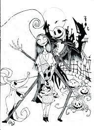 Nightmare Before Christmas Zero Coloring Pages Weareeachother Coloring
