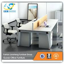 nice person office. Marvelous Two Sided Office Desk 4 Person Modern Simple Large Chairs Nice N