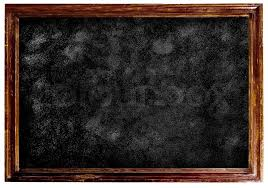 School Chalkboard Background Chalkboard Blackboard With Frame Stock Photo Colourbox