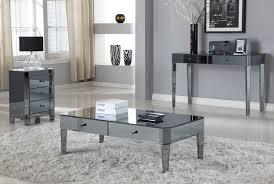 smoked mirrored furniture. Las Vegas Smoke Mirror Coffee Table Collection D1120-C Smoked Mirrored Furniture