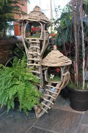Garden: Fairy Garden Houses Beautiful Tree House Fairy Garden -