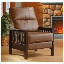 Mission Style Living Room Furniture Castlecreekar Mission Style Recliner 299493 Living Room At