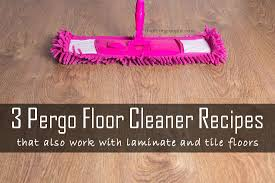 how to make pergo natural floor cleaner