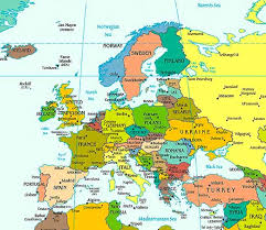 europe map countries. Perfect Europe Europe Political Map In Countries P