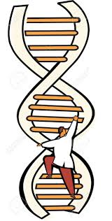 scientist moving up on a dna ladder stock photo picture and scientist moving up on a dna ladder stock photo 7861268