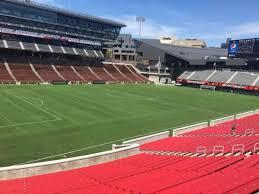 Nippert Stadium Fc Cincinnati Seating Chart Nippert Stadium Section 110 Home Of Cincinnati Bearcats