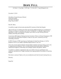 Hospital Cover Letter Resume Cover Letter
