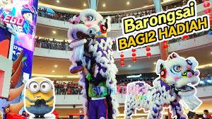 1share barongsai adalah tarian tradisional china dengan menggunakan sarung yang menyerupai singa. Barongsai 2019 Warna Ungu Keren Banget Lion Dance Youtube
