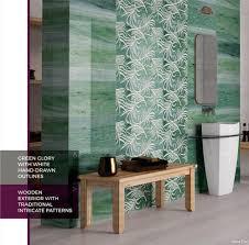 ceramic 3d bathroom digital wall tiles