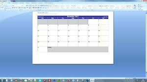Word Calendar Template Free Printable Calendars Sample 2007 2018 ...