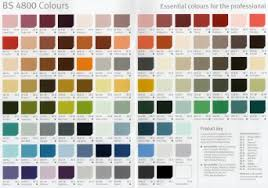 Crown Trade Colour Collection Colour Chart Colours