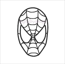 Spiderman Template Spiderman Face Template 9 891 X 882 Making The Web Com