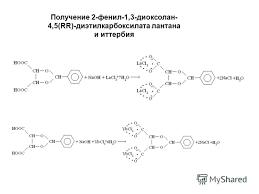 Презентация на тему Реферат rr винная кислота и её производные  5 Получение 2 фенил 1 3 диоксолан 4 5 rr диэтилкарбоксилата лантана и иттербия