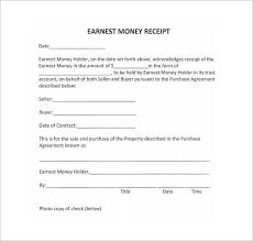 Money Receipt Format Receipt Template Doc For Word