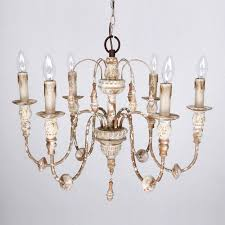 distressed antique white chandelier 6 light wood chandelier distressed antique white home depot