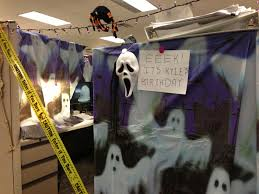 office bay decoration ideas. Tremendous Â\u2013» Office : 11 Halloween Decorations Themes Ideas Cubicle Bay Decoration
