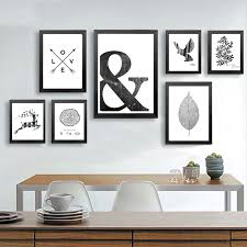 canvas art print poster animal vintage wall art black and white