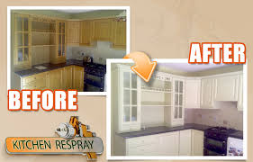 kitchen resurfacing respray we will not be repainting your cabinets