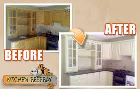 kitchen resurfacing respray