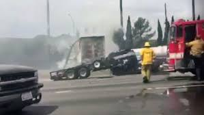 Griffith Park: Deadly Los Angeles car wreck snarls Interstate 5 ...