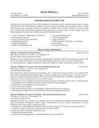 Nursing Career Goals Resume Professional Resume Templates