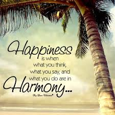 Cute Quotes About Life Best Happiness Is When What You Think Quotes With Pictures