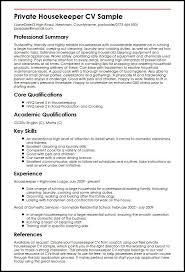 Housekeeping Resume Awesome Resume Format Housekeeping Resume Format Pinterest Resume