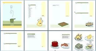 Online Cookbook Template Microsoft Office Cookbook Template Free Recipe Book Gsebookbinderco