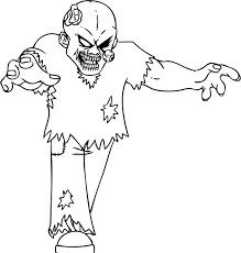 Small Picture Halloween Zombie Coloring Pages GetColoringPagescom