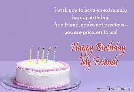 Happy Birthday Quotes For Friend Awesome Happy Birthday Quotes For Friends Bday Status For WhatsApp Wishes