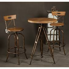 wood and iron furniture. Wrought Iron Pub Tables And Chairs Migrant Resource Network Ideal Table Casual 8 Wood Furniture