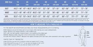 Vintage Clothing Size Chart Plus Size Clothing Size Chart Find Your Perfect Fit Plus