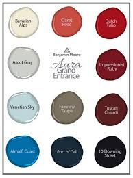 Benjamin Moore Aura Color Chart Benjamin Moore Introduces New Aura Grand Entrance Enamel