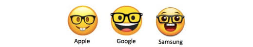 Samsung To Iphone Emoji Chart 2018 22 Emojis That Look Completely Different On Different Phones