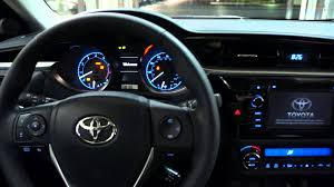toyota corolla 2014 interior automatic. 2014 toyota corolla s 6speed manual transmission start up and walk around c22381 youtube interior automatic