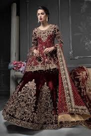 Best Designer Wedding Dresses In Pakistan Pakistani Designer Bridal Dresses Maria B Brides 2020 2021