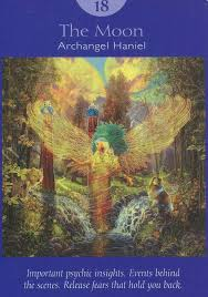Introduction to tarot and the sephiroth tarot, a centuries old card system, summarizes universal wisdom with symbolic visual representations. Angel Tarot Card The Moon