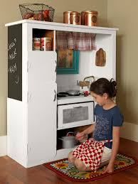 Play Kitchen From Old Furniture How To Turn An Old Entertainment Center Into A Play Kitchen How