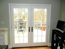 hinged patio doors hinged patio doors interior french doors with blinds between glass