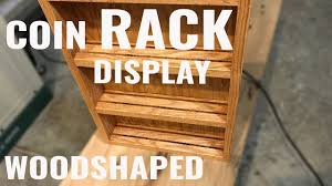 making a military coin medal display rack