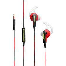 bose headphones sport. bose soundsport in-ear sport headphones with mic (apple) - red e