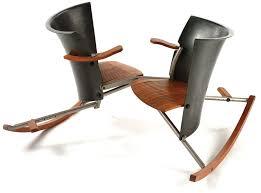rocking chair 06 carbon fiber teak