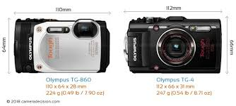 Olympus Tough Comparison Chart Olympus Tg 860 Vs Olympus Tg 4 Detailed Comparison