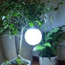 White Solar Lights Outdoor Outdoor Solar Hanging Lights Ball Shape White Solar Garden