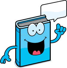 cartoon book talking stock vector ilration of book 47816019